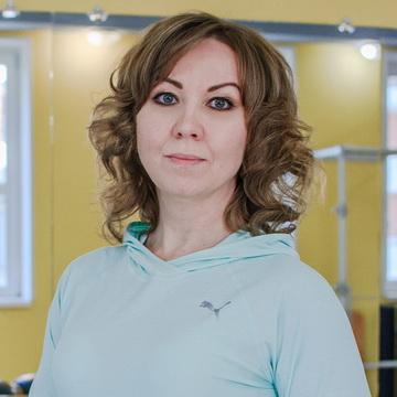 Светлана Кладиева - тренер студии пилатеса Александры Кибзий