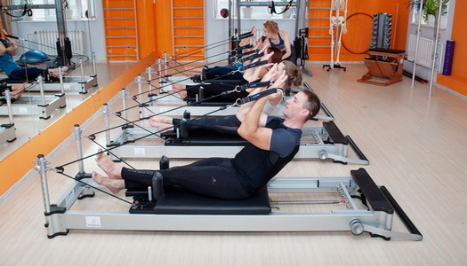 Pilates reformer in English