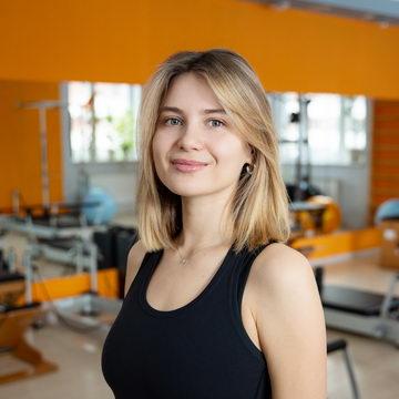 Диана Куницына - тренер студии пилатеса Александры Кибзий