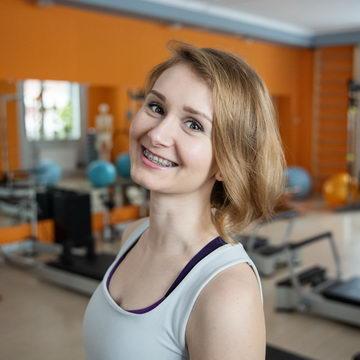 Алла Литвинова - тренер студии пилатеса Александры Кибзий
