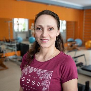 Анна Тыркова - тренер студии пилатеса Александры Кибзий
